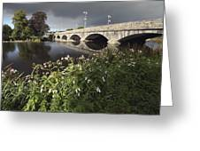 Blackwater River In Munster Region Greeting Card
