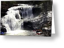 Blad River Falls Tellico Plains  Greeting Card