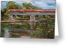 Blair Bridge Campton New Hampshire Greeting Card