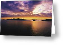 Blasket Islands, Dingle Peninsula, Co Greeting Card