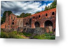 Blast Furnaces Greeting Card