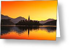 Bled 01 Greeting Card