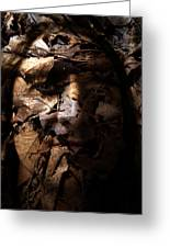 Blending In Greeting Card by Christopher Gaston