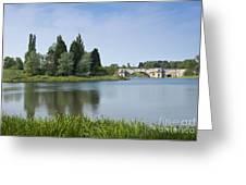 Blenheim Palace's Lake Greeting Card