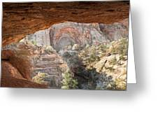 Blind Arch Overlook Greeting Card