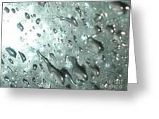 Blinding Rain Greeting Card