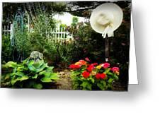 Blissful Garden Greeting Card