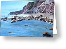 Block Island Surf Greeting Card
