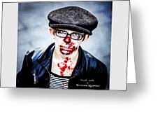 Bloody Youth Greeting Card