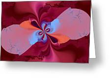 Blooming Color Greeting Card