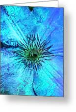 Blooming Ripples Greeting Card
