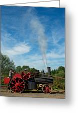 Blowing Off A Little Steam Greeting Card