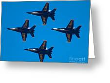 Blue Angels 10 Greeting Card