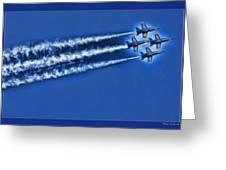 Blue Angels Liftoff Greeting Card