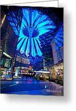 Blue Berlin Greeting Card