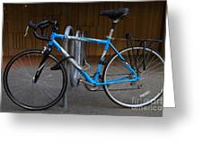 Blue Bicycle . 7d10157 Greeting Card
