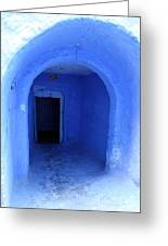 Blue Cave Greeting Card