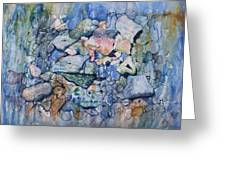 Blue Creek Stones Greeting Card