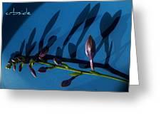 Blue Heart Greeting Card