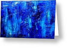 Blue Lagoon 7 Greeting Card