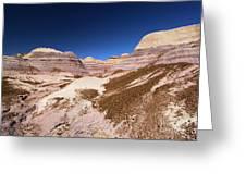 Blue Mesa Landscape Greeting Card