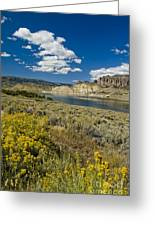 Blue Mesa Reservoir - V Greeting Card