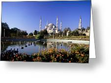 Blue Mosque, Sultanahmet, Istanbul Greeting Card