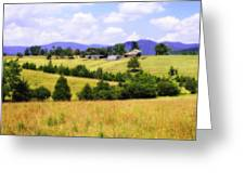 Blue Ridge Farm - 1 Greeting Card
