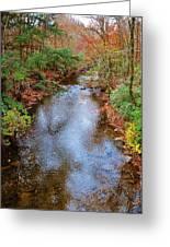 Blue Ridge Mountain Stream Too Greeting Card