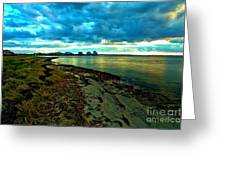 Blue Shores Greeting Card