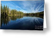 Blue Sky Art Greeting Card