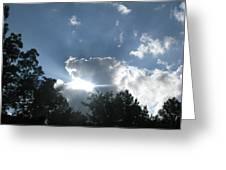 Blue Summer Skys Greeting Card