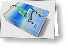 Blue Water Sailing Greeting Card
