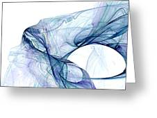 Blueangel Greeting Card