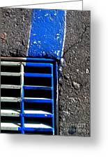 Bluer Sewer Four Greeting Card