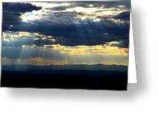 Blueray Panorama Greeting Card