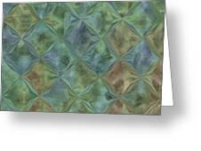Bluetone Diamonds Greeting Card