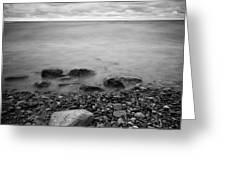 Bluffs Beach Wind 2 Greeting Card