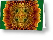 Blumen Art Greeting Card