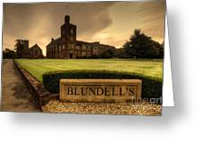 Blundell's School Greeting Card