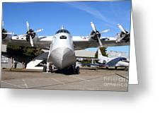 Boac British Overseas Airways Corporation Speedbird Flying Boat . 7d11246 Greeting Card