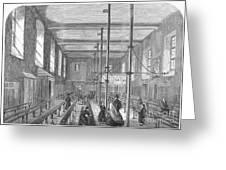 Boarding School, 1862 Greeting Card
