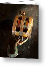 Boat - Block And Tackle II Greeting Card