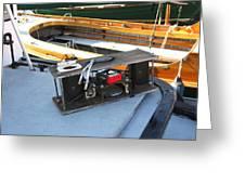 Boat Builders Music Box Greeting Card