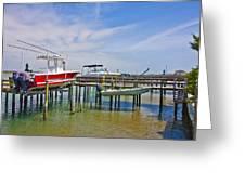 Boat Caddy Greeting Card