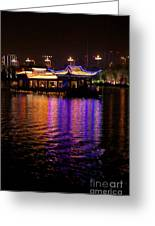 Boat Cruise On Guilin River Greeting Card