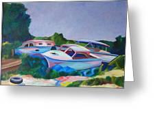 Boat Dreams Greeting Card
