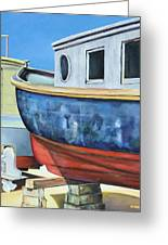 Boat Hull Greeting Card