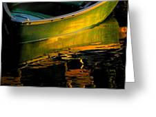 Boat In The Water Greeting Card