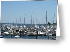 Boat Slips Greeting Card